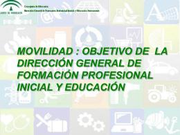 Movilidad - Centro del Profesorado de Granada