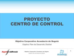 Sistema Tibitoc - Empresa de Acueducto de Bogotá