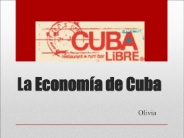 La reforma Cubana