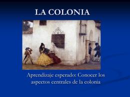 LA COLONIA - Fundación Educacional Mater Dei