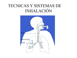 TERAPIA INHALADA