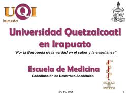 Presentaciones Eficaces - Universidad Quetzalcoatl en Irapuato