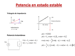 Potencia en estado estable