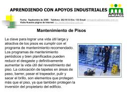 Tips de Pisos - Laborales Medellín SA