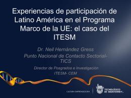 Neil Hernández Gress: Director de Posgrados e