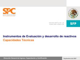 Instrumentos de evaluacion y modulo generador de examenes