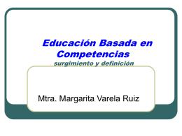 Beneficios y Limitaciones de las Competencias - FMVZ-UNAM