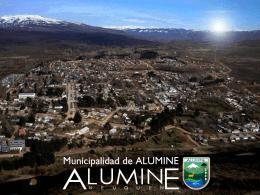 Aluminé, agua que brilla…