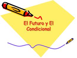 El Futuro y El Condicional - DEU-NA