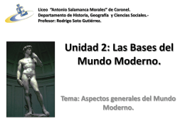 La Edad Moderna. - Estudios Sociales