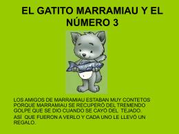 CUENTO MATEMÁTICO DEL GATO MARRAMIAU