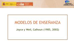 4.1.b. Modelos enseñanza