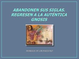 Diapositiva 1 - GnosisOnline