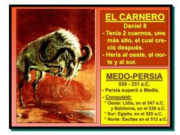 Daniel 8 y 9 - Iglesia Adventista del Séptimo Día * Barrio San Judas