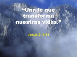Una fe que salva