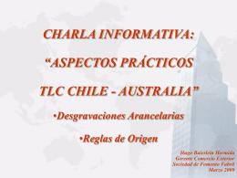 exportaciones de chile a australia