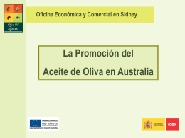El aceite de oliva en Australia