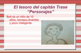 El tesoro del capitán Trase