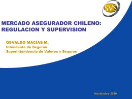 Presentación - SVS - Superintendencia de Valores y Seguros