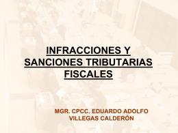 infracciones y sanciones tributarias fiscales