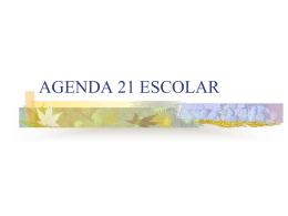 Agenda XXI - cmfp `llodio`