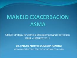 manejo exacerbación asma