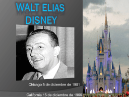 Walt elias Disney