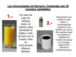 Las Universidades de Harvard y Cambridge dan 20 consejos