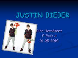 Justin Bieber trabajo