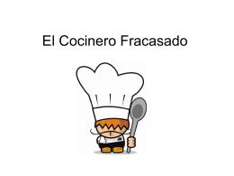 El cocinero fracasado
