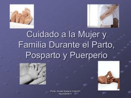 Cuidado a la Mujer y Familia Durante el Parto