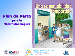 Plan de Parto - SMI - Salud Materno Infantil