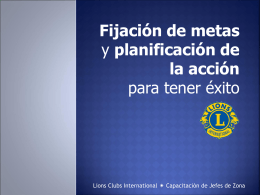 Presentación PowerPoint - Lions Clubs International