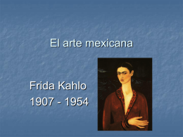 El arte mexicano