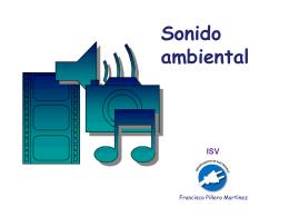 El sonido ambiental