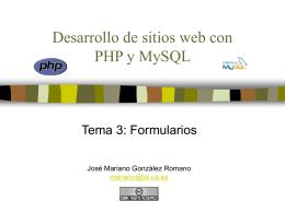 formulario de PHP