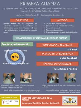 Primera Alianza Programa para la promoción de vinculaciones
