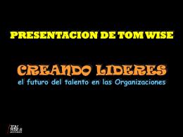 Conferencia: Creando Líderes.