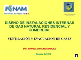 ventilacion y evacuacion de gases