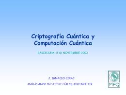 1. Mecánica Cuántica