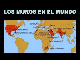 LOS MUROS EN EL MUNDO