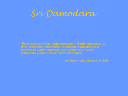 Sri Damodara - WordPress.com