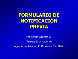 Notificación previa Ley de Bioterrorismo FDA-USA