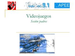 1º de ESO videojuegos