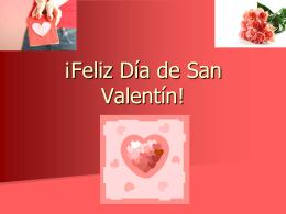 ¡Feliz Día de San Valentin! - DouglasCountyForeignLanguage