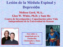 Lesión de la Médula Espinal y Depresión