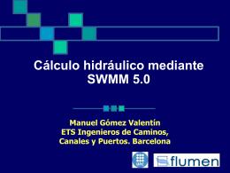 Régimen no permanente Modelos comerciales de cálculo