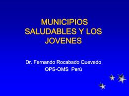 9.- Municipios Saludables y los Jovenes