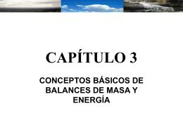 Ejemplo : Balance de Energía