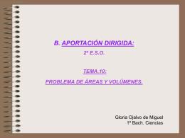 Un problema modelo del tema 9 - Colegio Cooperativa San Saturio
